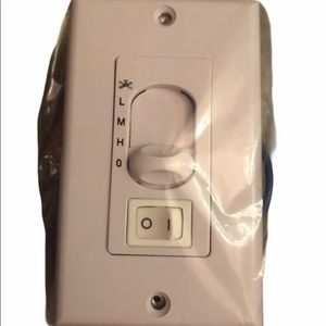 (3) WASFL-04 wall controls